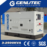 Вода охладила тип тепловозный комплект генератора 16kw 20kVA 2 цилиндров молчком