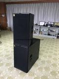 T24n Gama completa de alto-falante, PA, duas colunas de altifalantes de 12 polegadas