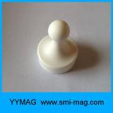 7 botões de empurrar magnéticos de escritório de cores sortidas para quadro branco