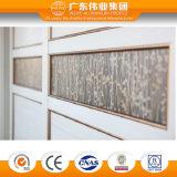 Porta de guarda-roupa de cortina de grão de madeira customizada
