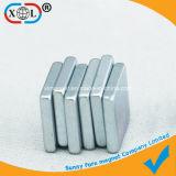 Zink-Beschichtung-Viereck Dauermagnet mit unterschiedlicher Größe