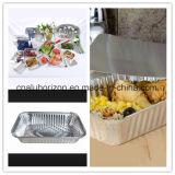 Dienblad het van uitstekende kwaliteit van de Aluminiumfolie van het Huishouden voor Verpakking