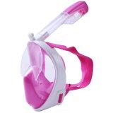 Antinebel-Tauchen-volles Gesichts-schnorchelndes Schablonen-Schwimmen-Trainingsnorkel-Tauchens-Unterwasserunterwasseratemgerät