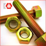 육 견과를 가진 ASTM A193 Gr. B7/A194 Gr. 2h 그루터기 놀이쇠