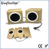 Impressão personalizada OEM Eco-Friendly Papel Dobrável reciclado Mini Speakers (XH-PS-023)