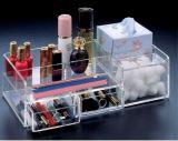 Présentoir cosmétique acrylique de bruit, stand acrylique au détail de mémoire