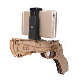 El nuevo juguete de madera AR del juego 3D del Shooting de Bluetooth del diseño hace fuego sobre