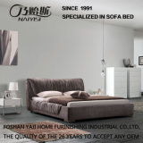 居間Fb8022のための新しい現代ファブリックベッドのホーム家具