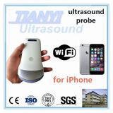 Tamanho da máquina de ultra-som sem fio da Palm para Smartphone Tablet