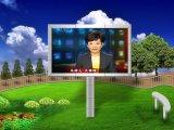 P6 SMD Unipole extérieur restant le panneau-réclame polychrome de Digitals DEL pour la publicité