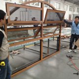 China Fabricante Janelas de alumínio de dupla janela superior / toldo