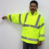 Держите теплые высокие одежды безопасности прокладок Visiblity