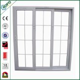 상한 디자인 PVC 실내 두 배 유리제 미닫이 문