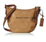 Sacchetti di cuoio di modo di colore di contrasto del sacchetto di spalla dell'unità di elaborazione dell'annata