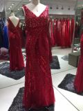 Tamanho padrão superior de vestido de noite UK4-12 da venda