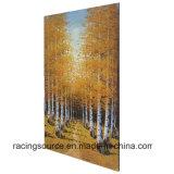 Arte envuelto impresión casera moderna de la lona del paisaje de Deoration para la decoración de la pared