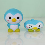 Späteste Liste-blaue Pinguin-Modell PU-Druck-Spielwaren