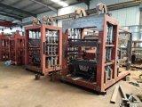 Qt10-15 Baumaterial-Maschinerie-Betonstein, der Maschine herstellt