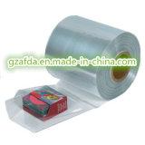 Film de tuyauterie de rétrécissement de chlorure polyvinylique de catégorie comestible de transparent pour l'étalage de Windows avec le GV reconnu