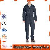 Combinaison 100% bon marché de vêtements de travail de sûreté de chemise de coton de qualité longue