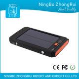 10000mAh impermeabilizzano la Banca portatile di energia solare per il telefono mobile fatto in telefono mobile della Banca portatile di energia solare della Banca di potere di Chinawaterproof 8000mAh