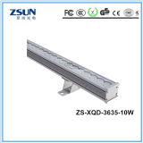 Iluminação clara do diodo emissor de luz da luz/estágio da lavagem da parede do diodo emissor de luz de DMX