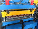 Farbe beschichtete die Stahlfliese-Rolle, die, die Fliese-Rolle ehemalig ist, die Maschine bildet