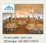 2017 New High Peak Luxury Marquee Party Wedding Mixed Tent