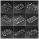 Mariscos del ANIMAL DOMÉSTICO claro/plástico frescos de la bandeja del vehículo/de la fruta