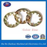 Interne Zahn-Unterlegscheibe-verzinkte Schutzvorrichtung-Stahlunterlegscheiben des Edelstahl-DIN6797j