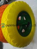 Gomma piuma solida dell'unità di elaborazione per la rotella di vagone (4.00-8/400-8)