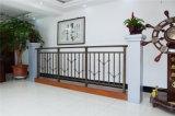 Balcon en acier galvanisé décoratif de haute qualité 8 de clôture d'alliage de Haohan Alluminum