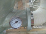 O plástico granula o secador do funil para a máquina da modelação por injeção