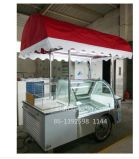 110V/60Hz Mobile Ice Cream Cart /a vender Helados carros