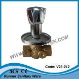 Латунный Lockable клапан стопа (V23-222)