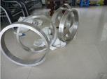 Geschmiedetes Schmiedeeisen formte Ringe Verbinder-Ringe ovale Ringe gerollte Ringe