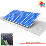 Serre-câbles solaires pour rail de montage sur panneau (ZX031)