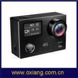 Fábrica Atacado Câmera de esportes Câmera Câmera de ação de camara com caixa de caixa e kit de acessórios