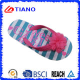 Deslizador colorido de la playa de la nueva manera de EVA para las mujeres (TNK35284)