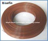 Alambre de cobre de la sola base revestida del PVC