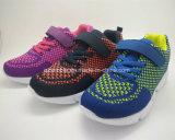 Mais nova moda atlética e sapatos esportivos para crianças, meninos e meninas