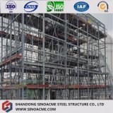 Edificio comercial estructural de acero prefabricado de la construcción de la alta subida de Europa