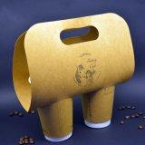 Les tasses de papier double paroi jetables pour boire à chaud
