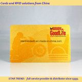 Cartões de ouro com tiras magnéticas e tiras de assinatura Material de PVC