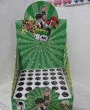 물결 모양 왁스 플루트 접히는 전시 상자