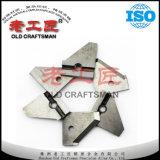Специальный подгонянный нож карбида вольфрама для более плоского инструмента