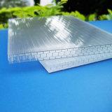 Hoja sólida del panal del policarbonato para la cámara fría industrial
