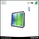 Geöffneter Rahmen-Anzeigen-Spieler-Screen-Kiosk