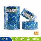 Basé sur l'eau de la colle BOPP Crystal Clear Bande d'emballage carton pour l'étanchéité