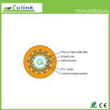 Le Fermer la fermeture éclair-Cordon plat de câbles plats de fibre câble les câbles GJFJV de simplex de GJFJBV